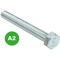 Hex Set Screws - A2 St. Steel