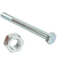 Bagged Hex Round Bolts & Nuts - High Tensile